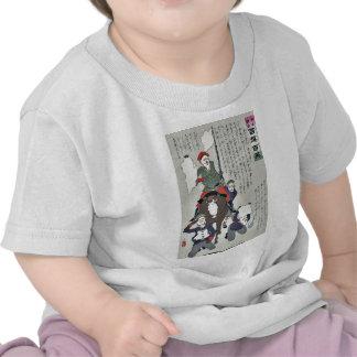 Bandera soldado-blanca rusa por Kobayashi, Camisetas
