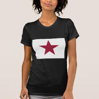 Bandera solitaria de la estrella de California Tee Shirts