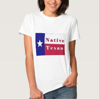 Bandera solitaria de la estrella del Texan nativo Camisas