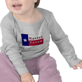 Bandera solitaria de la estrella del Texan nativo Camiseta