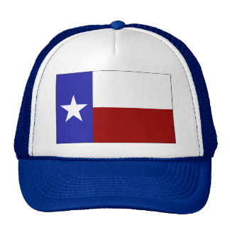 Bandera solitaria de la estrella gorras de camionero