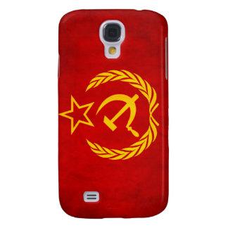 Bandera soviética 3 Shell duro de encargo Carcasa Para Galaxy S4