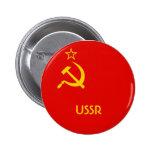 Bandera soviética pin