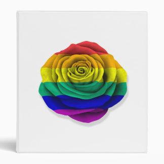 Bandera subió del orgullo gay del arco iris en bla