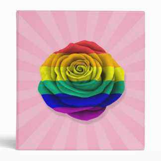 Bandera subió del orgullo gay del arco iris en ros