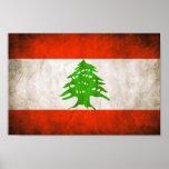 Bandera sucia de Líbano Poster