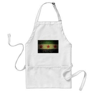 Bandera sucia de Siria Delantal