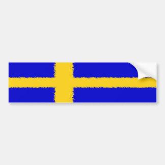 Bandera sueca pegatina para auto