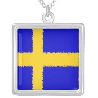Bandera sueca pendiente
