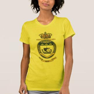 Bandera sueca de la navegación camiseta