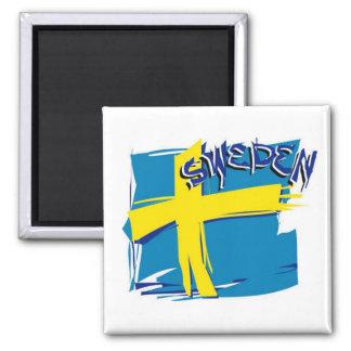 Bandera sueca de SFX Iman De Nevera