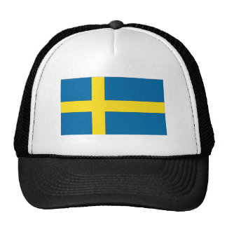 Bandera sueca gorras