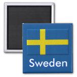 Bandera sueca iman