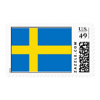Bandera sueca sello