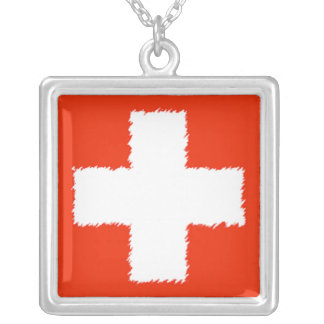 Bandera suiza collares