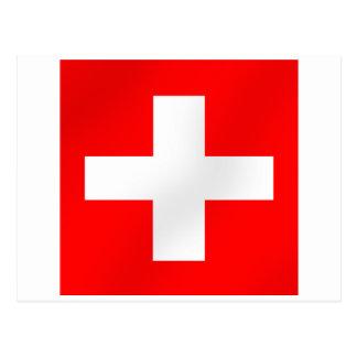 Bandera suiza de los regalos de Suiza Suisse Postales