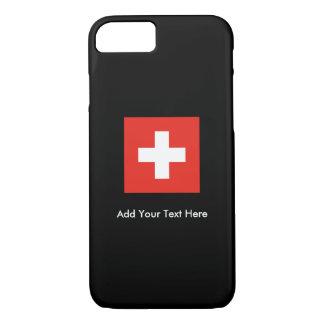 Bandera suiza funda iPhone 7