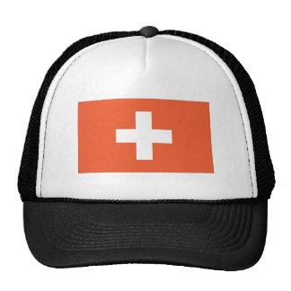 Bandera suiza gorras de camionero