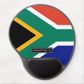 Bandera surafricana alfombrilla con gel
