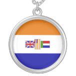 Bandera surafricana colgantes