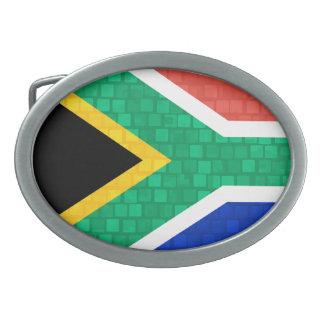 Bandera surafricana del modelo moderno hebillas cinturon