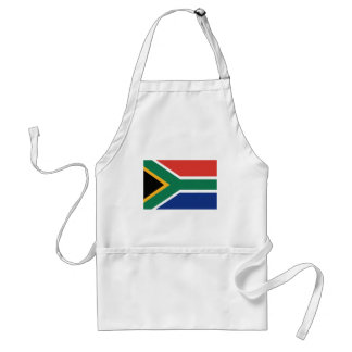Bandera surafricana delantal