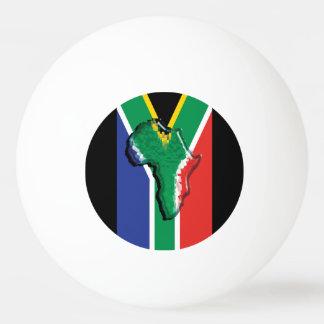 Bandera surafricana en África patriótica Pelota De Tenis De Mesa