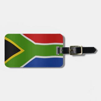 Bandera surafricana etiquetas maletas