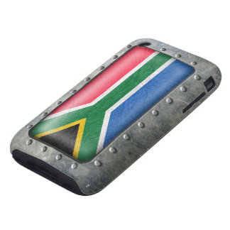 Bandera surafricana industrial funda though para iPhone 3