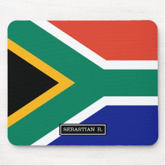 Bandera surafricana mouse pads