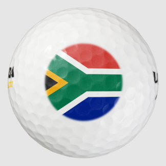 Bandera surafricana pack de pelotas de golf