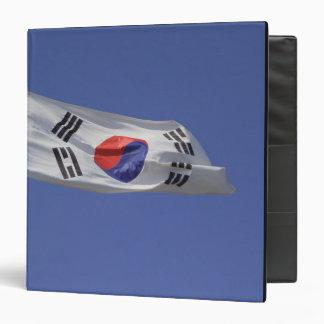 "Bandera surcoreana carpeta 1 1/2"""