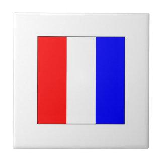 Bandera T del ICS Azulejo Cuadrado Pequeño