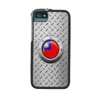 Bandera taiwanesa industrial con el gráfico de ace