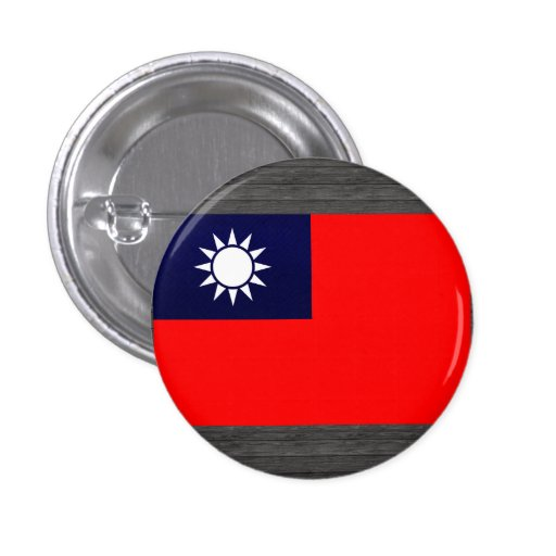 Bandera taiwanesa pelada moderna pin