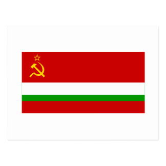 Bandera tayica de SSR Tarjetas Postales