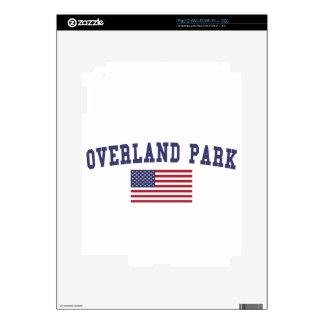 Bandera terrestre de los E.E.U.U. del parque iPad 2 Calcomanía
