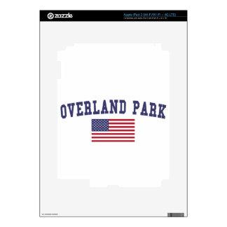 Bandera terrestre de los E.E.U.U. del parque Pegatina Skin Para iPad 3