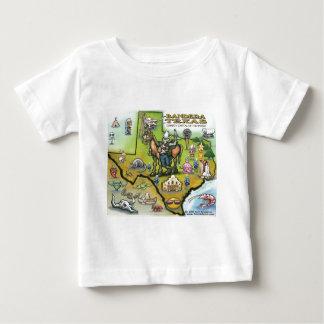 Bandera TEXAS Map Baby T-Shirt
