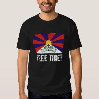 Bandera tibetana, TÍBET LIBRE Poleras