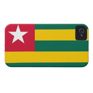 Bandera togolesa iPhone 4 Case-Mate cárcasa