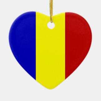 ¡Bandera totalmente rumana! Adorno