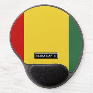 Bandera tradicional de Guinea Alfombrilla De Raton Con Gel