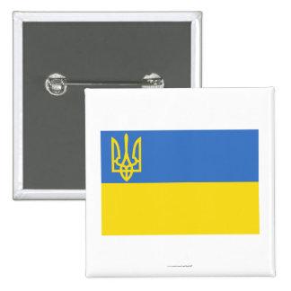 Bandera tradicional de Ucrania Pins