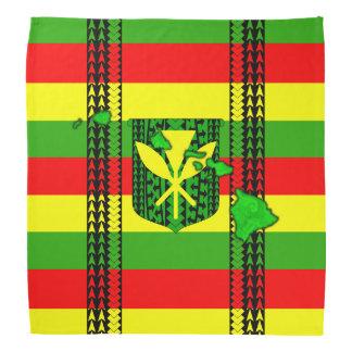 Bandera tribal de Kanaka Maoli de la isla Bandana