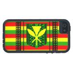Bandera tribal de Kanaka Maoli iPhone 5 Fundas