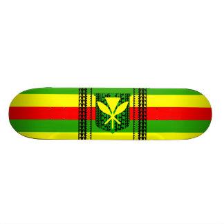 Bandera tribal de Kanaka Maoli Patinetas Personalizadas