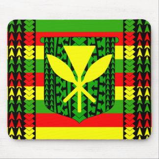 Bandera tribal de Kanaka Maoli Tapetes De Raton