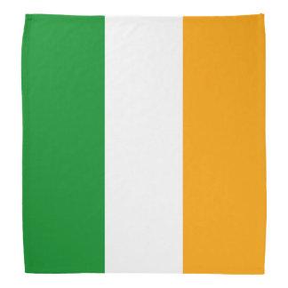 Bandera tricolora irlandesa patriótica bandanas