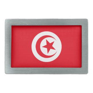 Bandera tunecina hebillas cinturón rectangulares